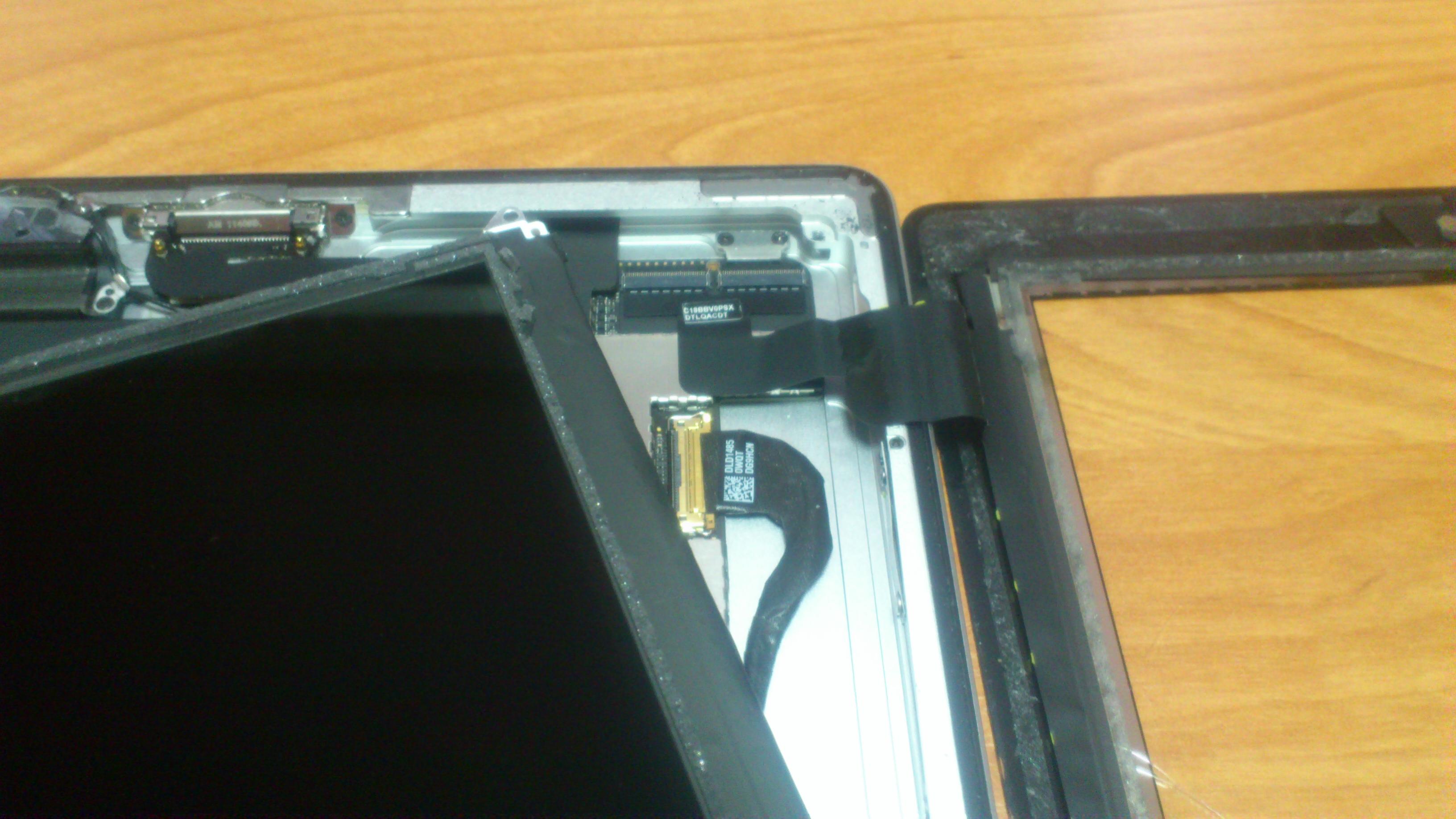 Ремонт матрицы на ноутбуке своими руками 493